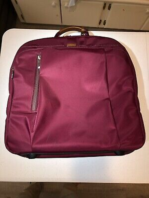 Tumi Carry On Maroon With Dope Kit