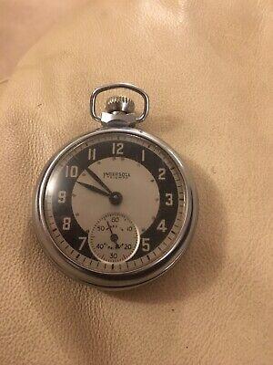 Vintage Ingersoll Triumph Pocket Watch in working order .