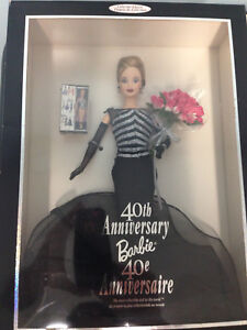 Barbie Collector Doll 40th Anniversary