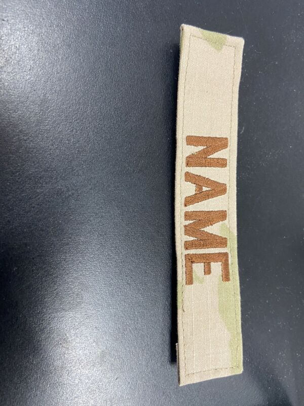 NEW Airforce 3 Color Name Tape (CUSTOM)