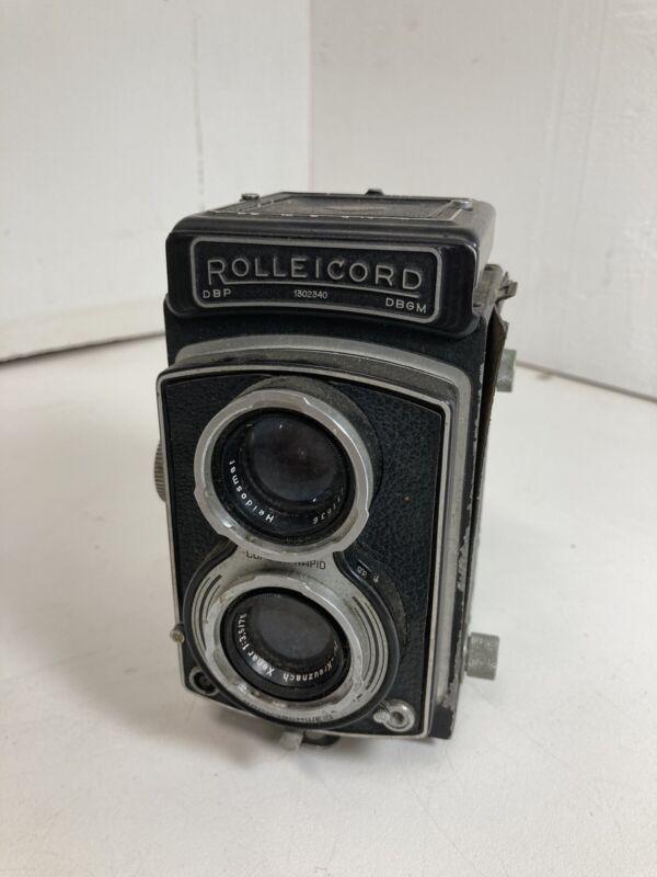 Vintage Rolleicord TLR Camera DBP DBGM Germany