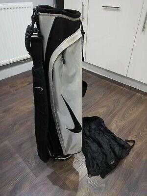 Nike golf pencil carry bag sunday lightweight rigid with rain head cover
