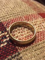 Gold wedding band found!!
