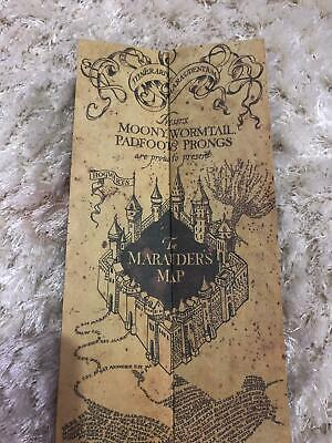 Harry Potter Mauraders Map Prop Replica 📜⚡
