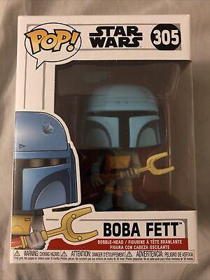 Funko Pop! Star Wars Animated Boba Fett Gamestop Blue Disne Pop 305