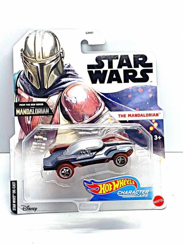Star Wars character car The mandalorian
