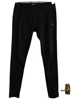 Ladies Black puma sport joggers / gym / track pants Size 12