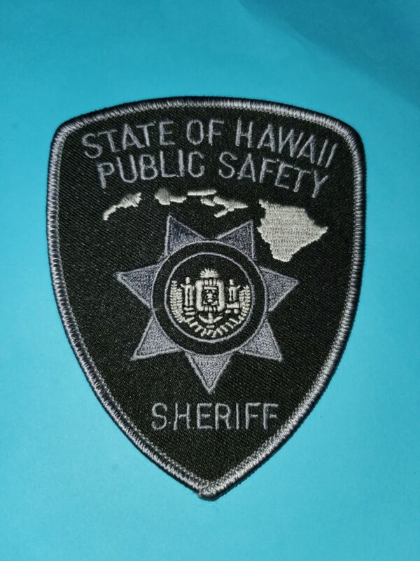 State Of Hawaii Public Safety Sheriff Patch