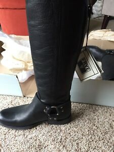 FRYE Phillip harness tall boots size 6.5