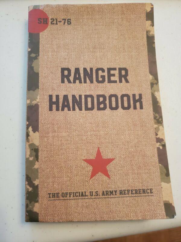 U.S ARMY RANGER HANDBOOK TRAINING BOOK MILITARY RANGER BOOK