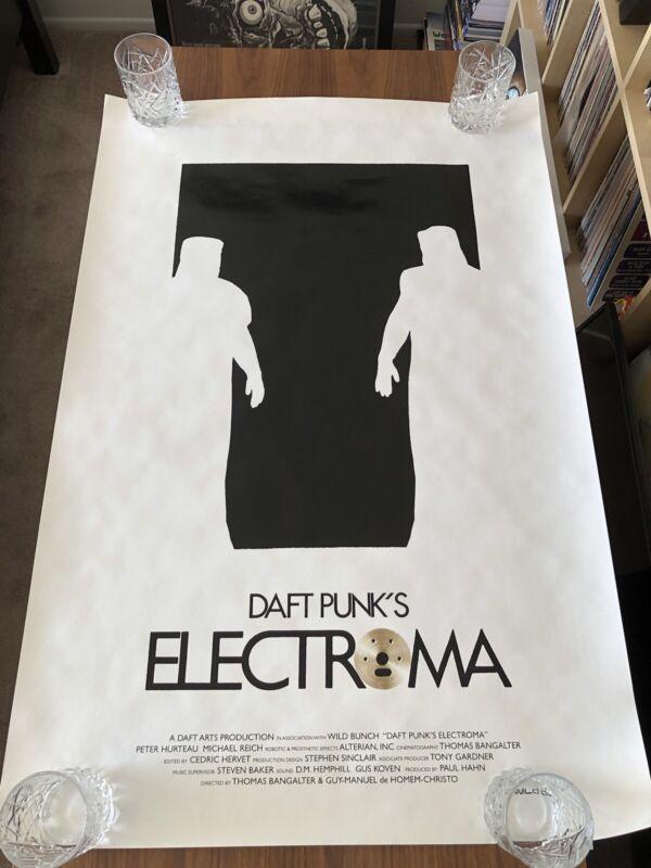 """Daft Punk """"Electroma"""" Movie Poster - Original Print - Thomas Bangalter Alive"""
