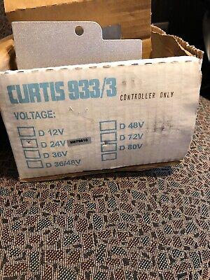 Curtis Electric Fork Lift Fuel Gauge Battery Controller Pn9333d24