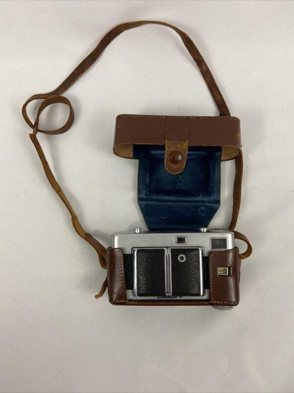 Vintage Vitessa Voightlander Made In Germany 35mm With Leather Case 1950s Camera