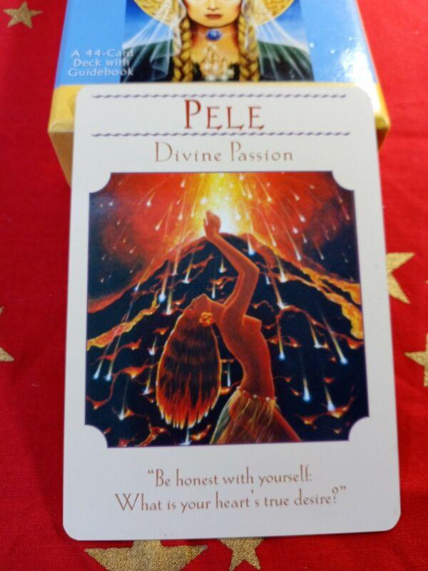 Pele - Single Card Replacement - Authentic Goddess Guidance Doreen Virtue