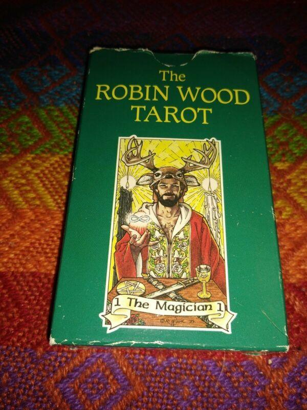 The Robin Wood Tarot Card Deck - Complete Vintage 1991 Set - RM