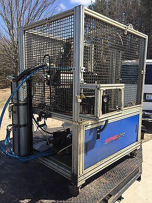 C Frame Horizontal 10 Ton Press Cnc C-frame Hypercyl Air Over Hydraulic Press