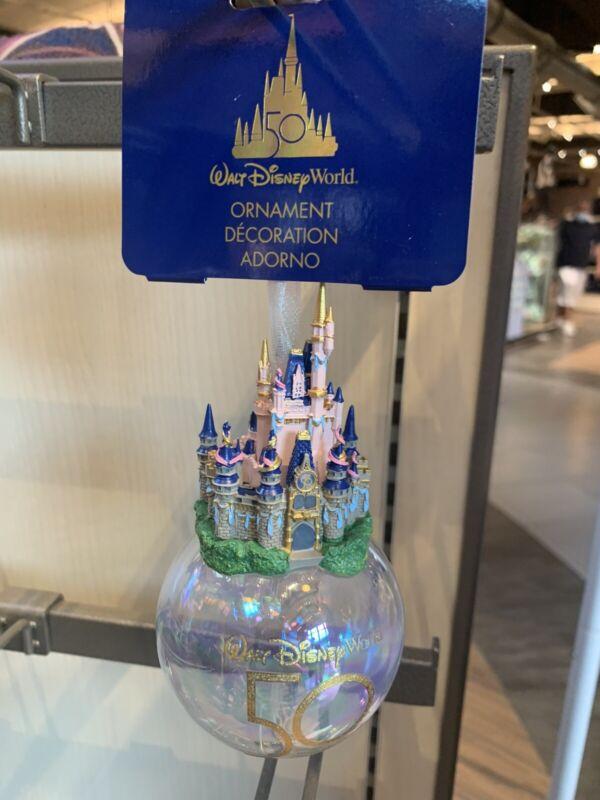 Walt Disney World 50th Anniversary Castle Ornament