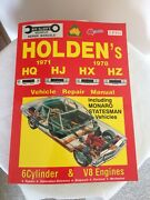 Holden Repair Manual HQ-HZ Green Point Gosford Area Preview
