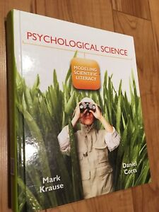 Psychological Science Hardcover Textbook