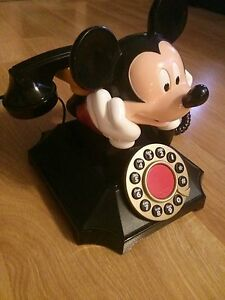 MICKEY MOUSE COLLECTABLE TELEPHONE updated NEW AD ########## Windsor Region Ontario image 5