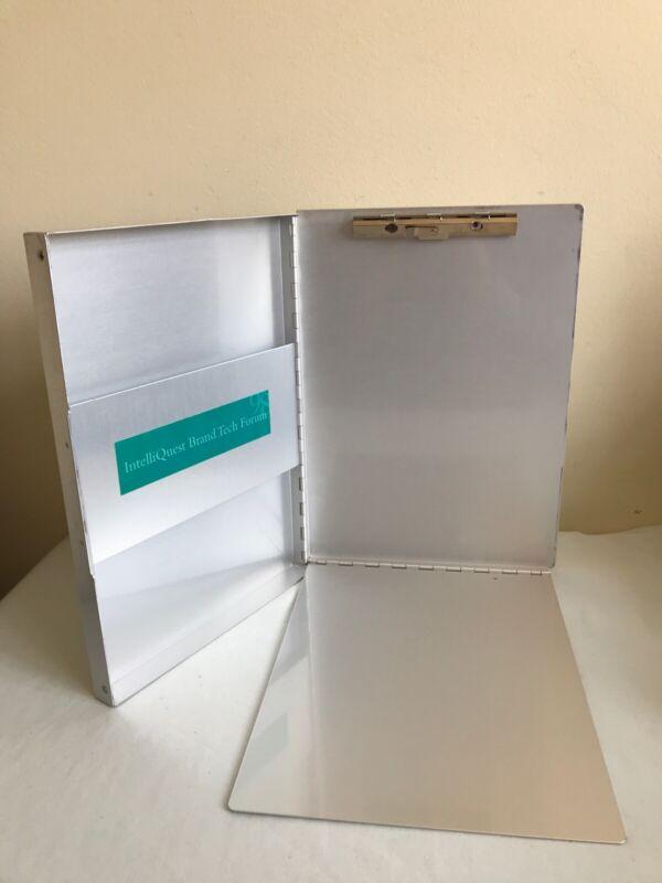 Aluminum Clipboard with Storage Form Holder Portfolio Aluminum Binder Heavy Duty