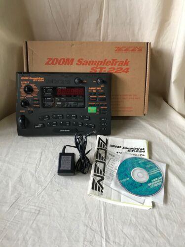 Zoom SampleTrak ST-224 Sampler w/ box power supply