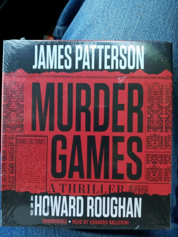New Audiobook  ( Murder Games ) by James Patterson Unabridged CDs Sealed