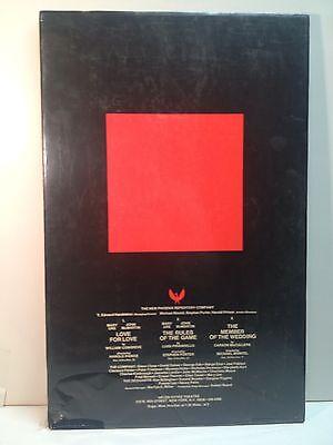 The New Pheonix Repertory Company Theatre Broadway Play Original Poster