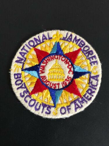 Authentic August 1935 Boy Scout National Jamboree Patch Washington DC