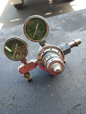 Valve Pressure Regulator Oxygen Used National 754