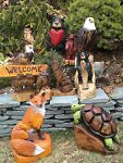 CHAINSAW CARVING CRITTERS