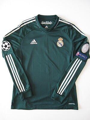 Adidas Real Madrid Cristiano Ronaldo Player Issue Jersey Match Shirt V Ajax 2012