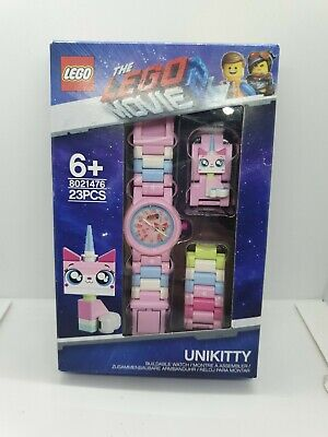 LEGO Movie 2 8021476 Unikitty Childrens Buildable Wrist Watch Pink Girls Toy