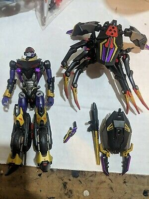 Perfect Effect 3rd Party ARANEA Blackarachnia! Loose, Complete, Great Shape!