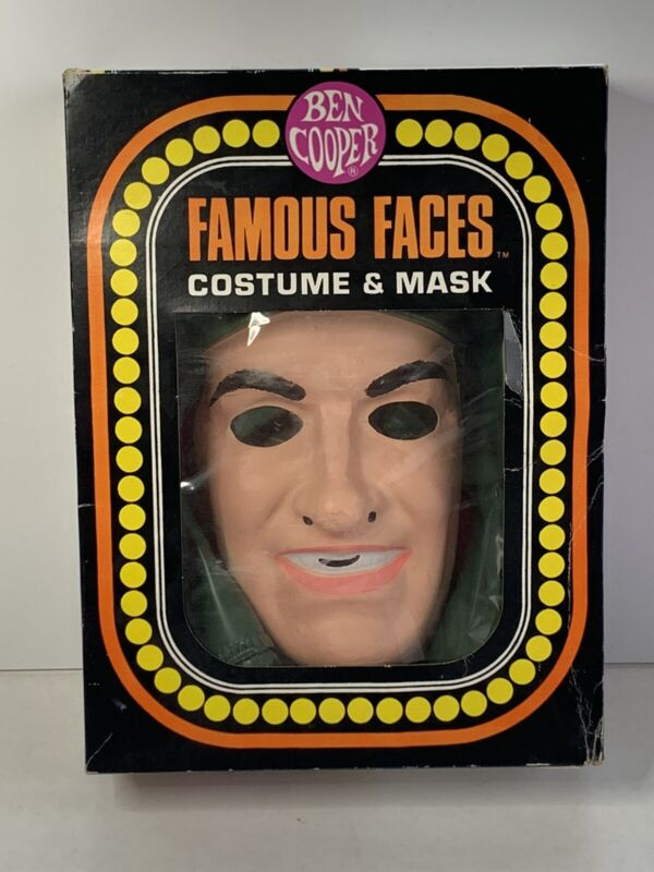 Ben Cooper MASH costume mask in box original 1981