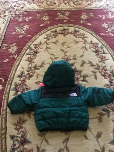The North Face Perrito Reversible Water Repellent Hooded Jacket (Baby) 0-3M Baby