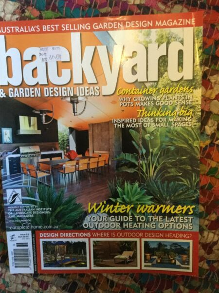 Backyard Garden Design Ideas Issue 8 2 Magazine Nic S Magazines Magazines Gumtree Australia Monash Area Mount Waverley 1231643995
