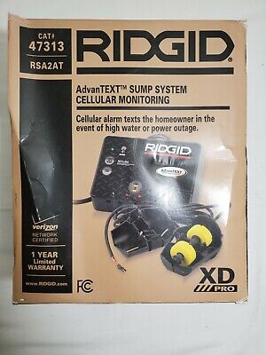 Ridgid Advantext Sump System Cellular Monitoring 47313 Rsa2at