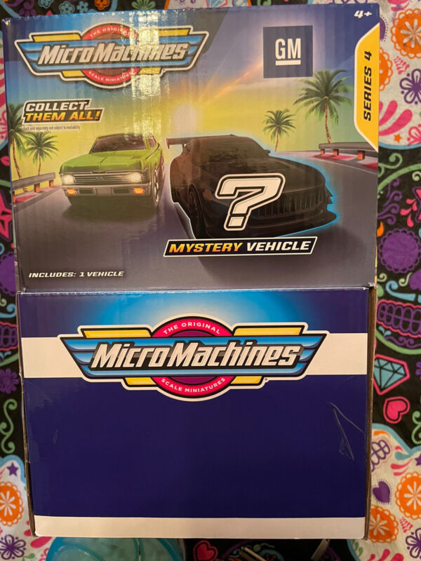 Micro Machines series 4 mystery blind bags (sealed box of 36)