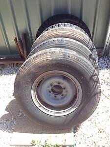 Toyota 6 stud split rims Lithgow Lithgow Area Preview