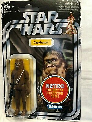 """Star Wars Retro Collection CHEWBACCA 3.75"""" Figure Wave 1 Brand New in hand"""
