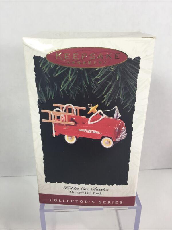 Kiddie Car Classics Murray Fire Truck 1995 Series #2 Hallmark Keepsake Ornament