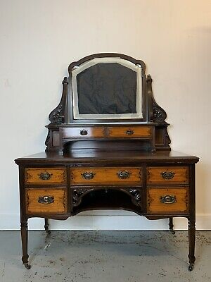 A Rare & Beautiful 130 Year Old Victorian Antique Dressing table. C 1890