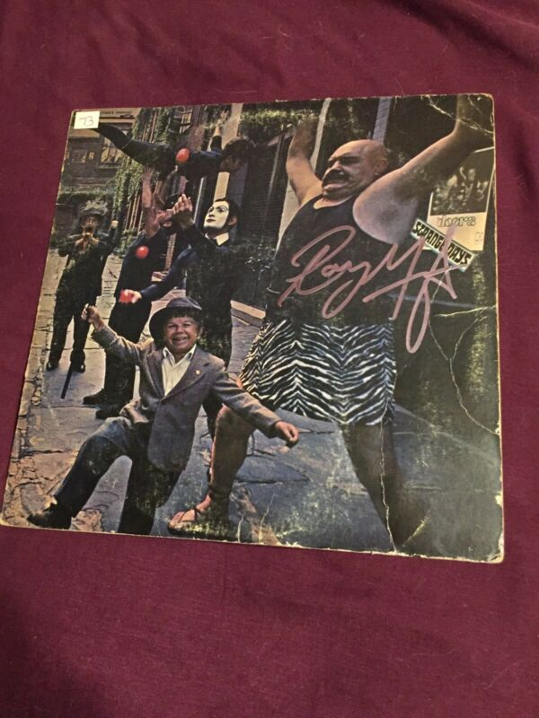 """The Doors """"Strange days"""" Signed By Ray Manzarek Extremely  Rare"""