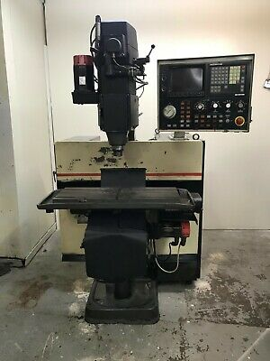 Bridgeport R2g4 Cnc Mill Fanuc 11 Control