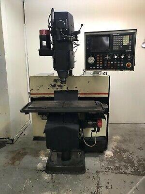 Bridgeport R2g4 Cnc Mill Fanuc 11 Control