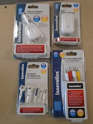 I phone Smart AV Cable Lanyard Head Ear phone Earbud USB Car AC Adapter Charger for sale  Shipping to India