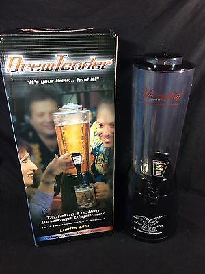 Yuengling Black Brewtender Beer Tower Cooler Bar New 80oz Led Lighted Pitcher