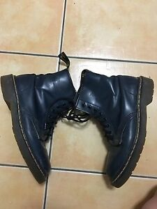 Dark blue doc martens size 7 Nerang Gold Coast West Preview