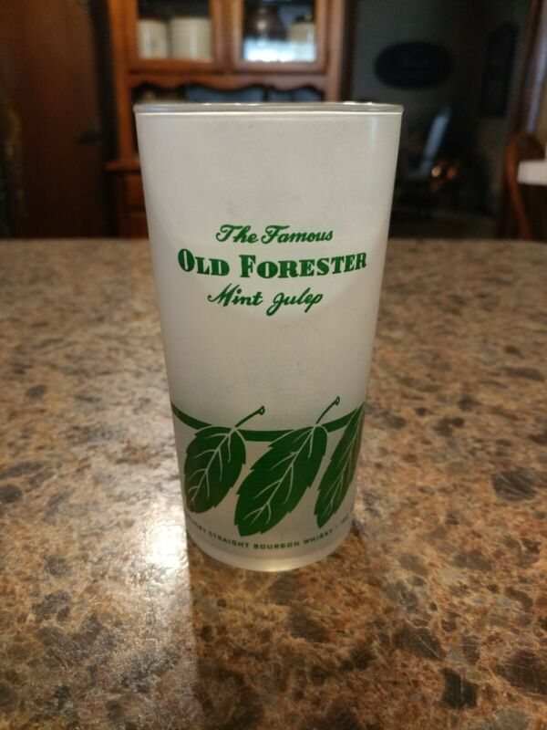 KENTUCKY DERBY OLD FORESTER MINT JULIP FROSTED GLASS